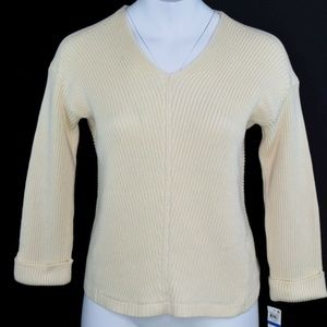Charter Club Textured Pullover Knit Sweater XL NWT